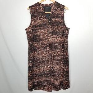 Apt. 9 Plus Size Sleeveless Pebble Tie Waist Dress